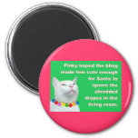 Pinky's Bling 2 Inch Round Magnet