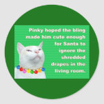 Pinky's Bling Classic Round Sticker