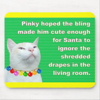 Pinky's Bling Mouse Pad
