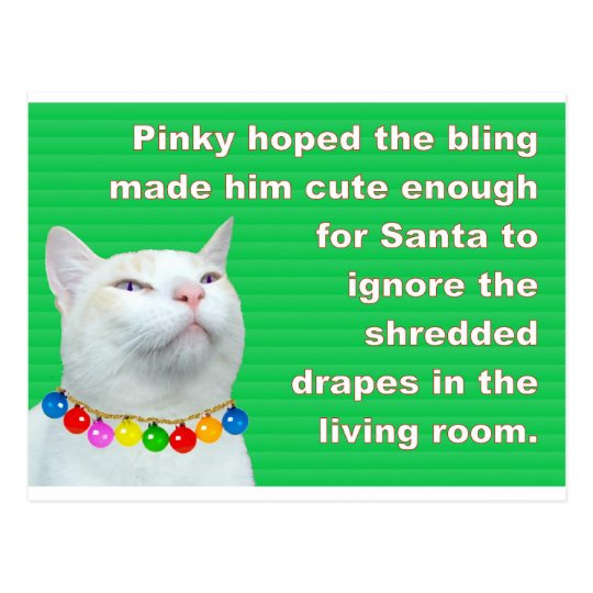 Pinky's Bling Postcard