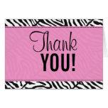 pinkzebra, Thank, YOU! Greeting Cards