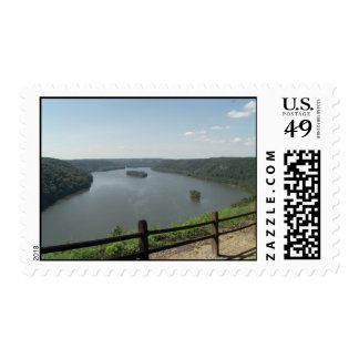 Pinnacle Point Lookout Postage Stamp