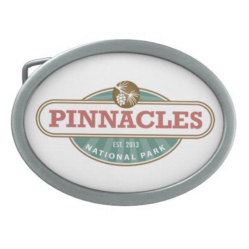 Pinnacles National Park Oval Belt Buckle