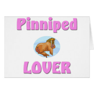 Pinniped Lover Card