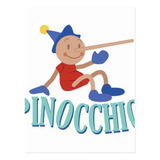 Pinnocchio Postcard