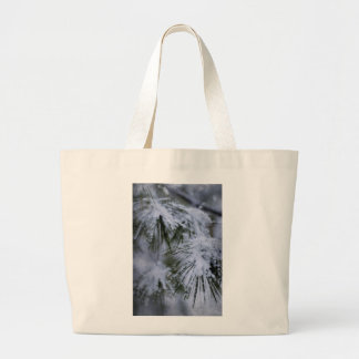 Pino hivernal bolsas de mano