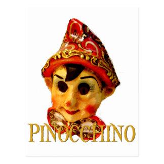 Pinocchino Postcard