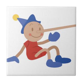 Pinocchio Ceramic Tile