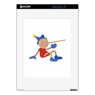 Pinocchio Decals For The iPad