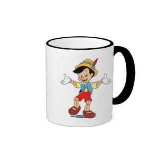 Pinocchio Disney Taza De Dos Colores