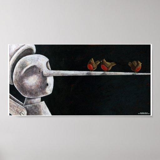 Pinocchio II Print