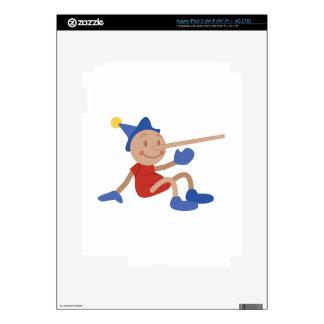 Pinocchio iPad 3 Skins
