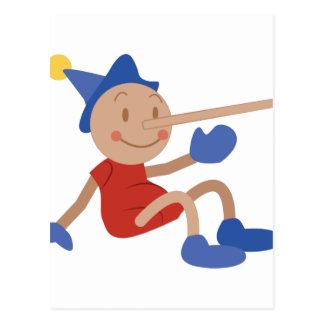 Pinocchio Postcard