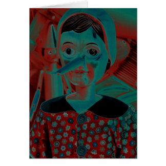 Pinocchio Puppet Card