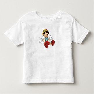 Pinocchio que encoge sus hombros Disney T Shirts