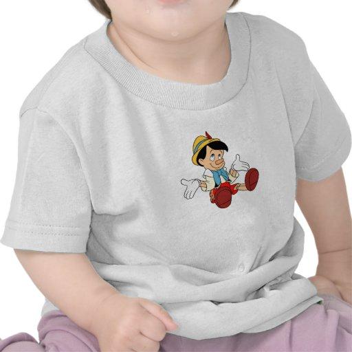 Pinocchio Shrugging His Shoulders Disney T-shirts
