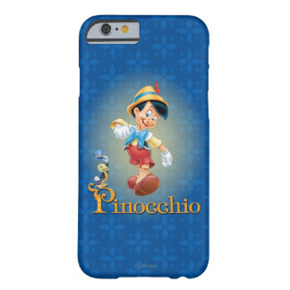Pinocchio with Jiminy Cricket 2 Barely There iPhone 6 Case