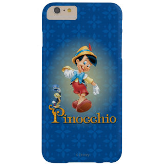 Pinocchio with Jiminy Cricket 2 Barely There iPhone 6 Plus Case