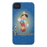 Pinocchio with Jiminy Cricket 2 Case-Mate iPhone 4 Case