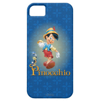 Pinocchio with Jiminy Cricket 2 iPhone SE/5/5s Case