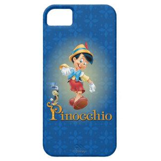 Pinocchio with Jiminy Cricket 2 iPhone SE/5/5s Case