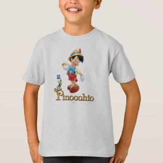 Pinocchio with Jiminy Cricket 2 T-Shirt