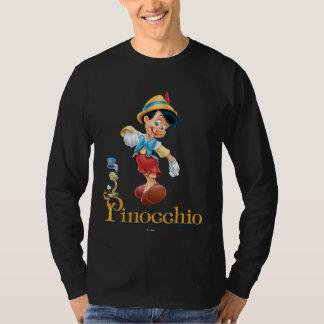 Pinocchio with Jiminy Cricket 2 T Shirt