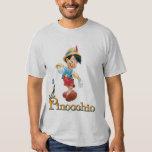 Pinocchio with Jiminy Cricket 2 Tshirts