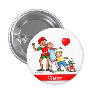 Pinocchio y amigos - botón
