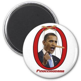 Pinocchiobama Magnet