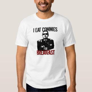 Pinochet - yo como a los Commies para el desayuno Camisas