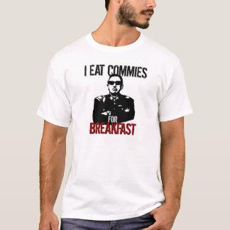Pinochet - yo como a los Commies para el desayuno Playera