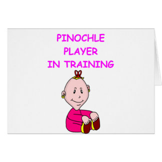 pinochle baby card