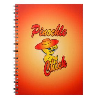 Pinochle Chick #5 Notebook