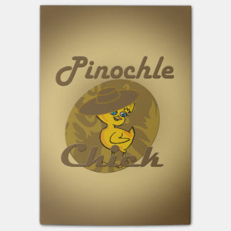 Pinochle Chick #6 Post-it® Notes