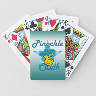 Pinochle Chick #7 Bicycle Playing Cards