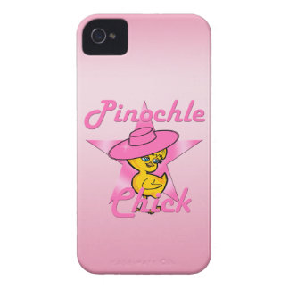 Pinochle Chick #8 Case-Mate iPhone 4 Cases