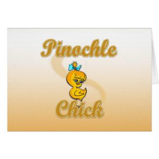 Pinochle Chick Card
