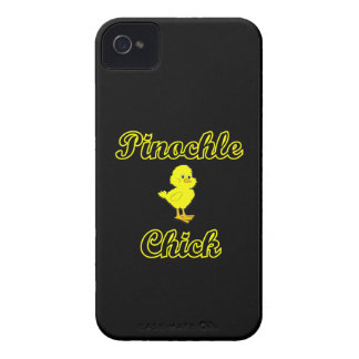 Pinochle Chick iPhone 4 Case