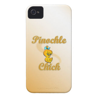 Pinochle Chick iPhone 4 Cover