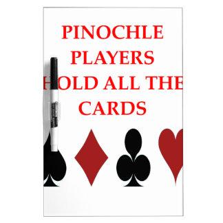 pinochle Dry-Erase board