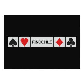 Pinochle invitation - customize