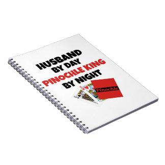 Pinochle King Husband Notebook