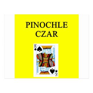 PINOCHLE [layerjoke Postcard