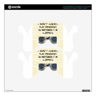 pinochle PS3 controller decals