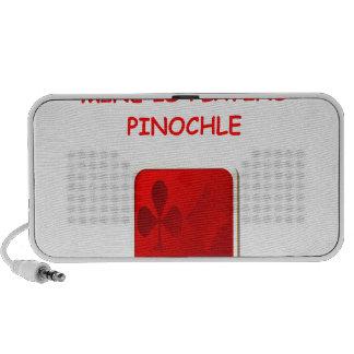PINOCHLE NOTEBOOK SPEAKER