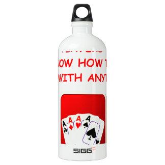 pinocle aluminum water bottle