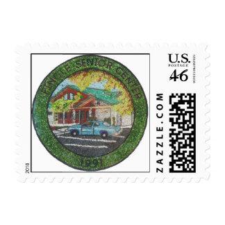 Pinole Senior Center 1991 Stamp