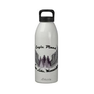 Pinos de Eagle del lago crane, manganeso Botallas De Agua