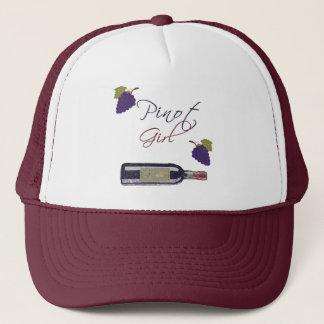 Pinot Girl Trucker Hat